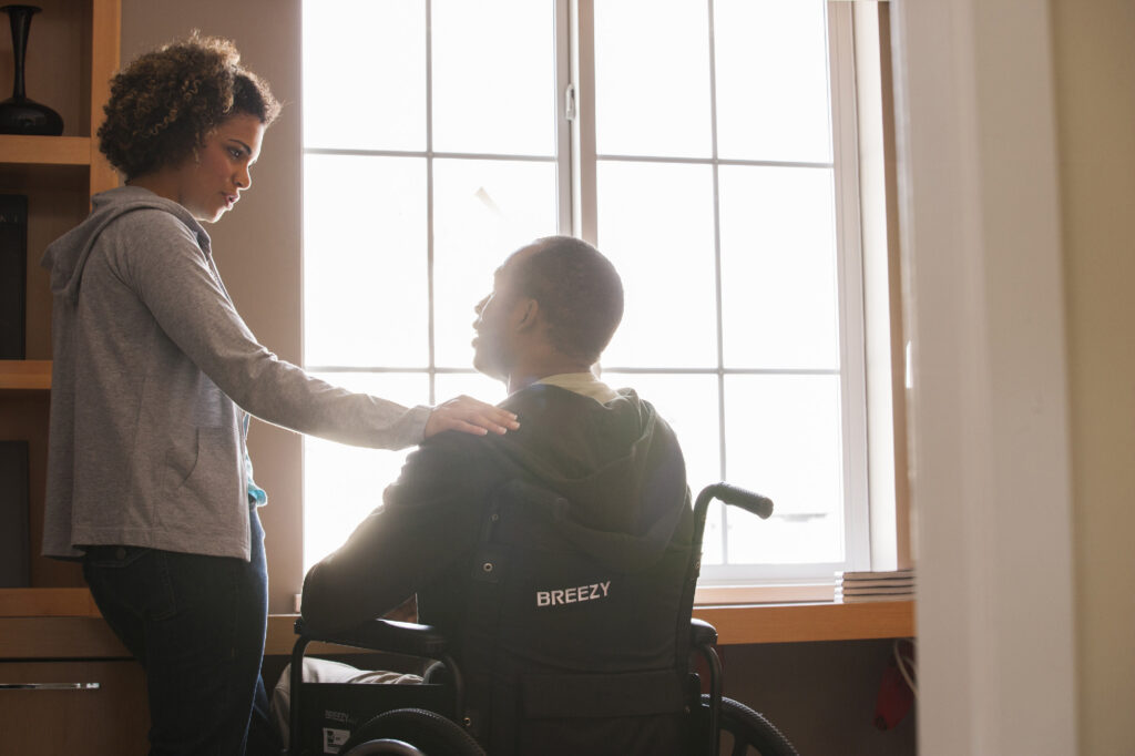 how to interact with a person who has a disability