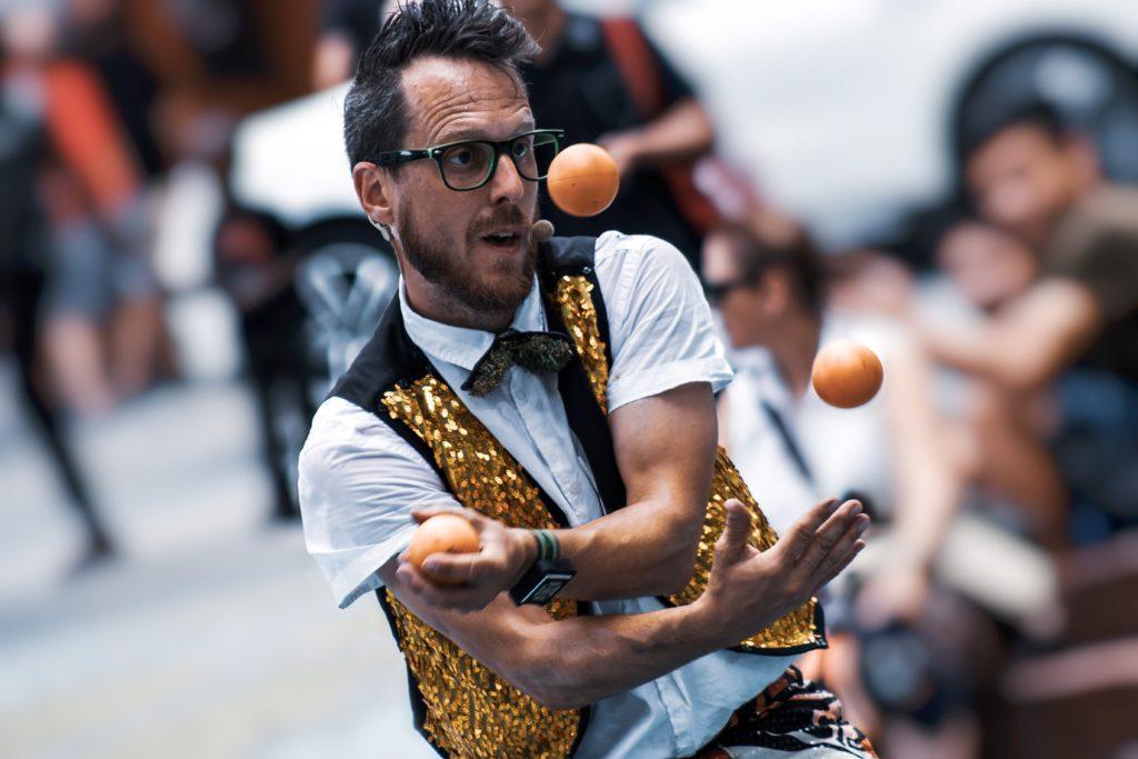 Work-life juggling