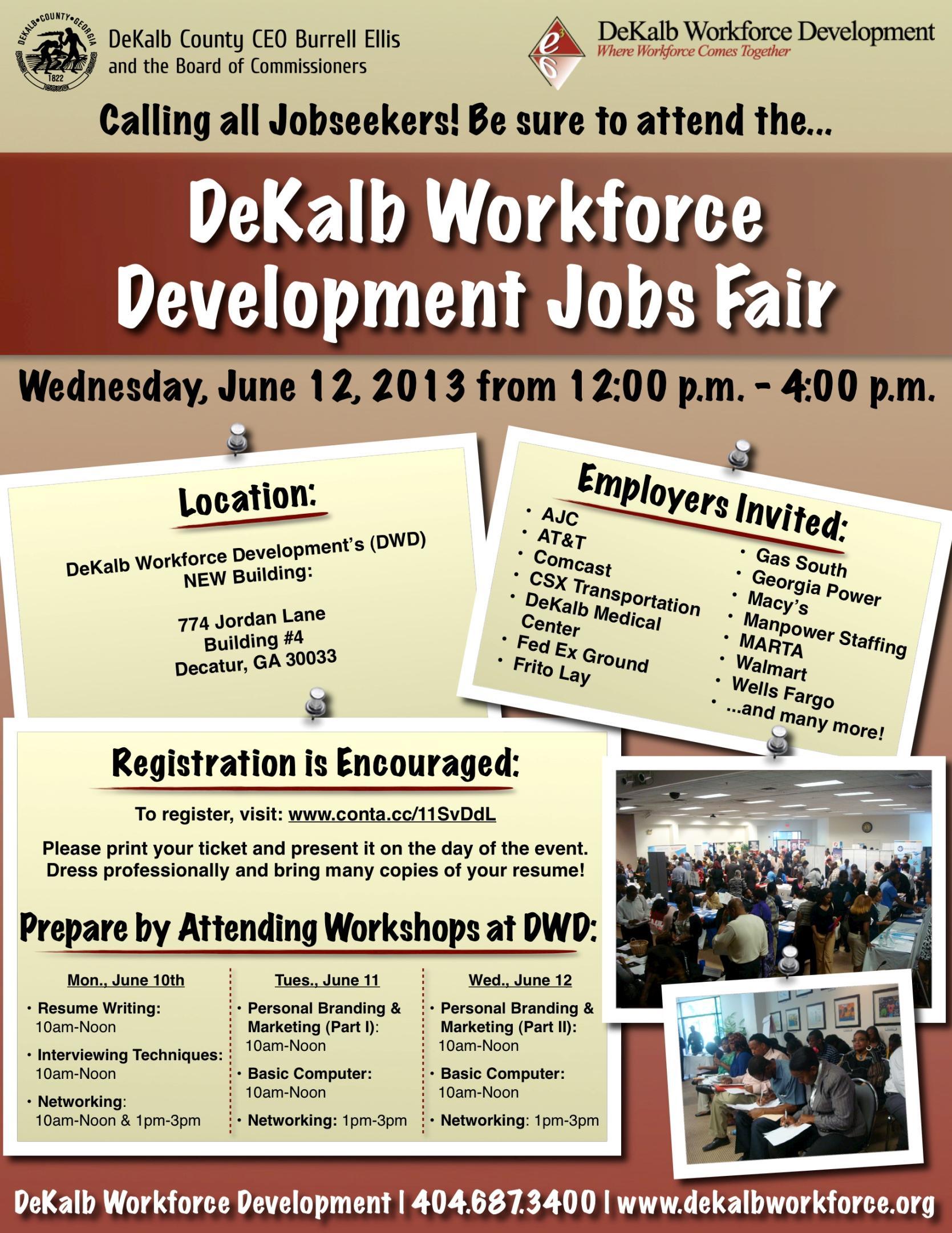 Job Fair Flyer Job Seekers