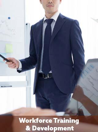 Workforce training and development